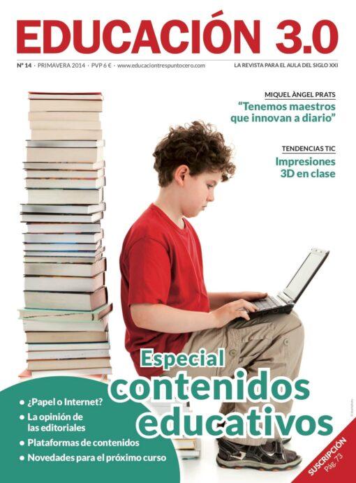 Revista número 14 de EDUCACIÓN 3.0