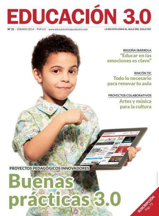 Revista número 15 de EDUCACIÓN 3.0
