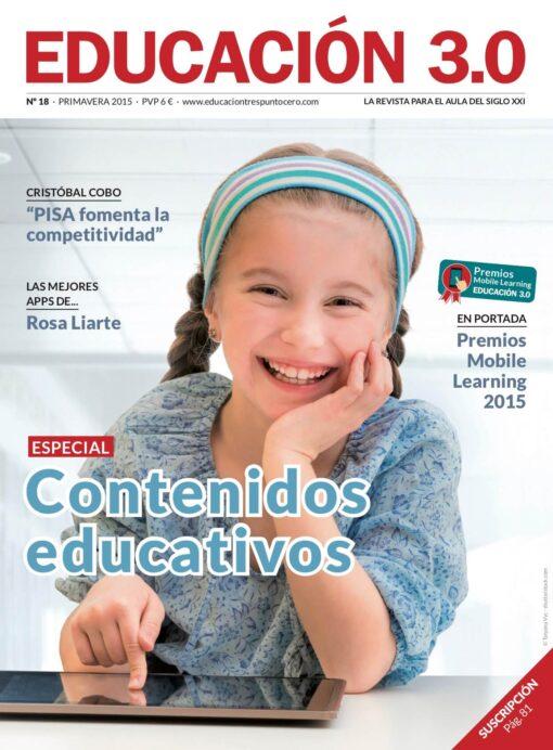 Revista número 18 de EDUCACIÓN 3.0