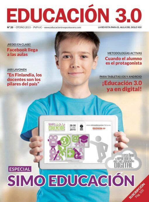 Revista número 20 de EDUCACIÓN 3.0