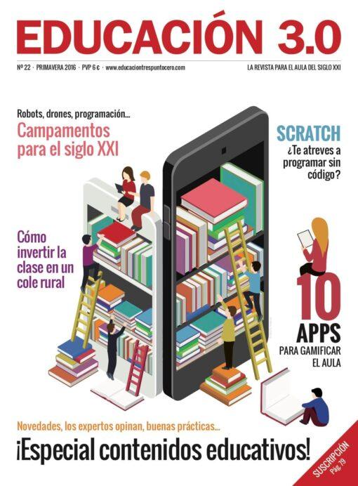 Revista número 22 de EDUCACIÓN 3.0