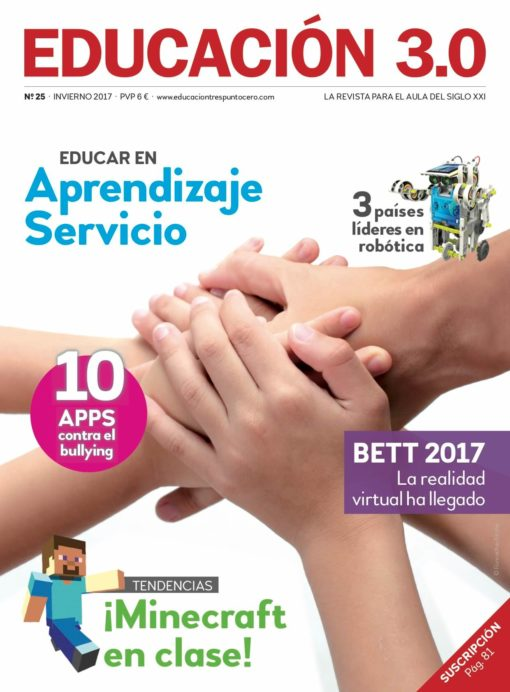 Revista número 25 de EDUCACIÓN 3.0