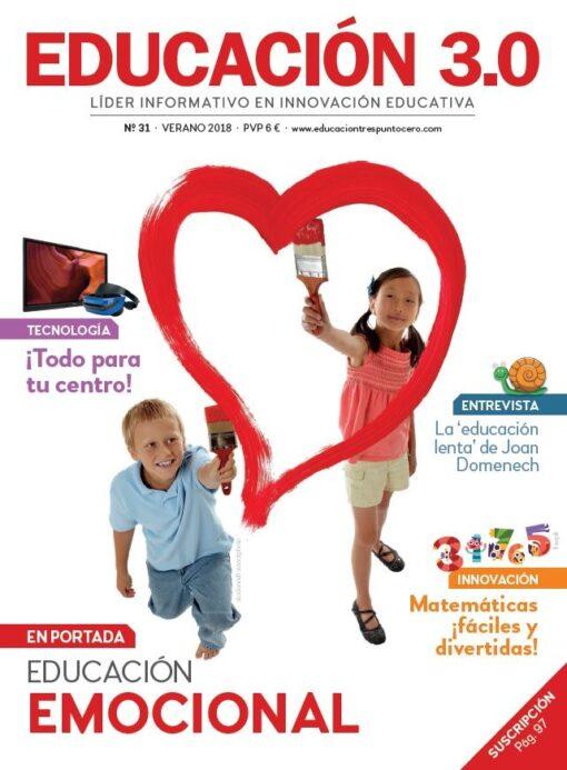 Revista número 31 de EDUCACIÓN 3.0