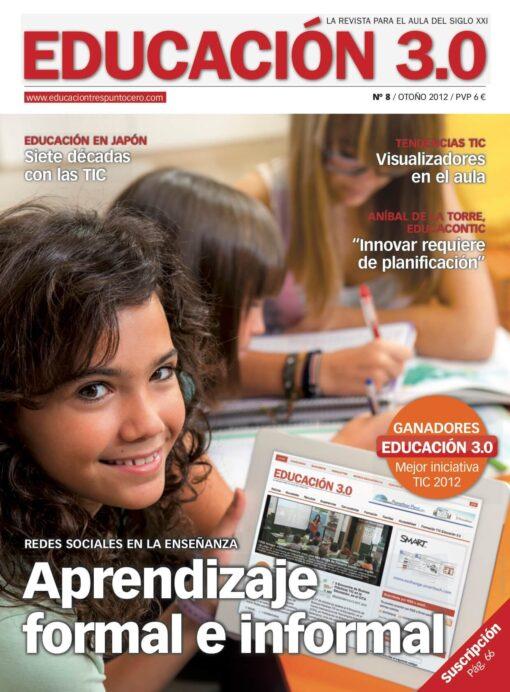 Revista número 8 de EDUCACIÓN 3.0